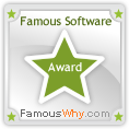 Remote Support Software award from FamousWhy.com