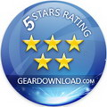 Remote Support Software 5 stars award from GearDownload.com