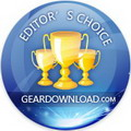 Remote Support Software Editors Choice award from GearDownload.com